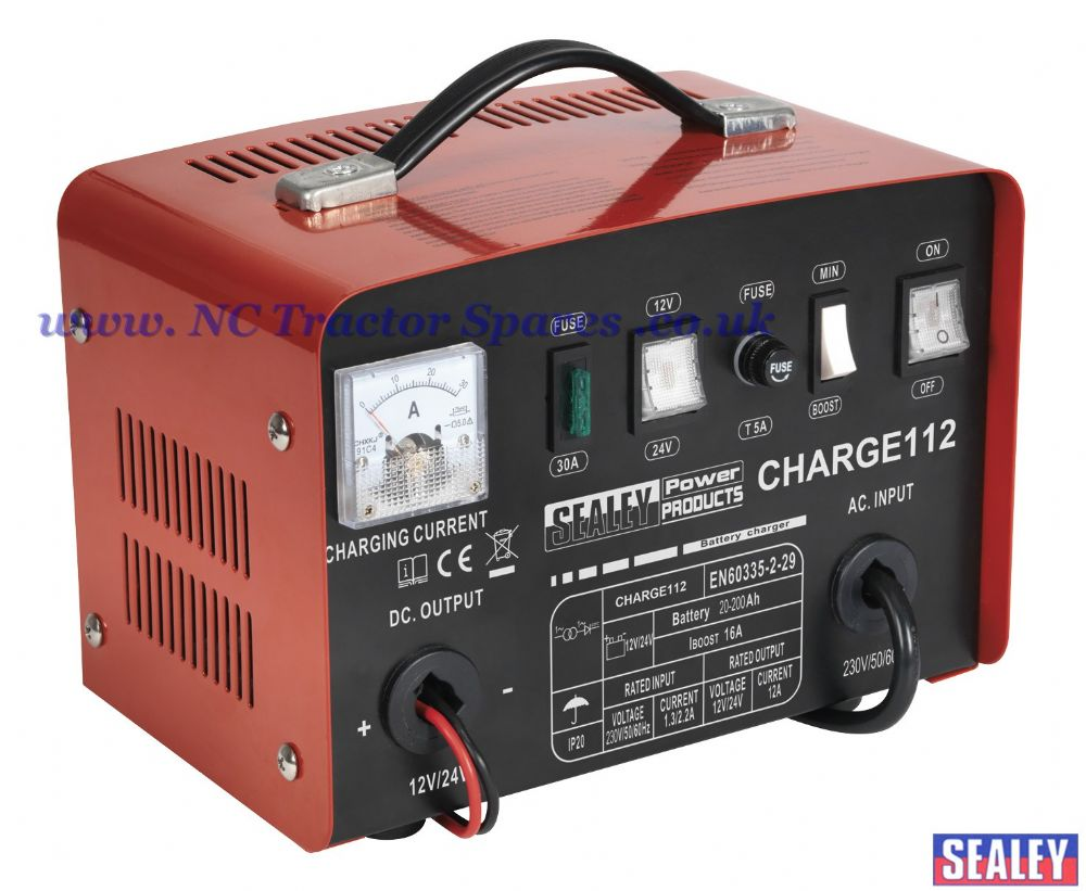 Battery Charger 16Amp 12/24V 230V